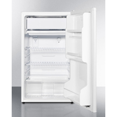 SMAFF412ESADA - Summit Appliance - Energy Star Qualified Refrigerator-Freezer with ADA Compliant Counter Height; Auto Defrost and White Exterior