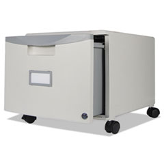 STX61254U01C - Storex Single-Drawer Mobile Filing Cabinet