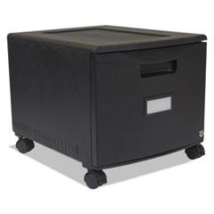 STX61259B01C - Storex Single-Drawer Mobile Filing Cabinet