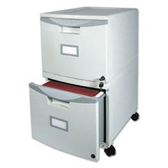 STX61301B01C - Storex Two-Drawer Mobile Filing Cabinet