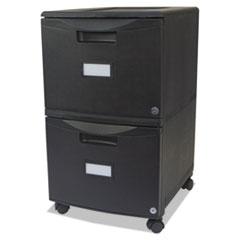 STX61309B01C - Storex Two-Drawer Mobile Filing Cabinet