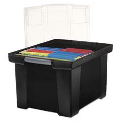STX61528U01C - Storex Plastic File Tote