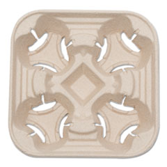 SVACT01 - NatureHouse® Recycled-Fiber Heavyweight Four-Cup Carry Trays