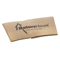 SVAS02 - NatureHouse® Unbleached Paper Hot Cup Sleeves