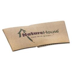 SVAS02CT - Savannah NatureHouse® Unbleached Paper Hot Cup Sleeves