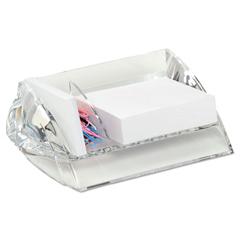 SWI10136 - Swingline® Stratus™ Acrylic Memo Paper Clip Holder