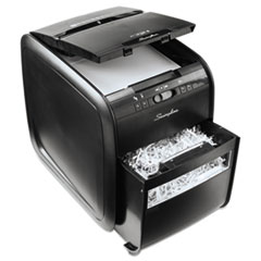 SWI1757574 - Swingline® Stack-and-Shred™ 80X Hands Free Shredder, Cross-Cut