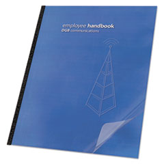 SWI2000036 - Swingline™ Clear View™ Presentation Covers for Binding Systems