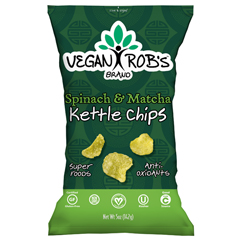 SXP859941005601 - Rob's BrandsSpinach & Matcha Kettle Potato Chips