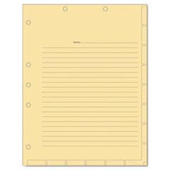 TAB54519 - Tabbies® Medical Chart Index Divider Sheets