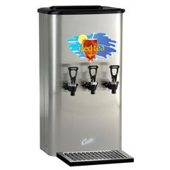 WCSTCC3 - Wilbur CurtisLiquid Tea Dispenser, Triple Faucet, Oval