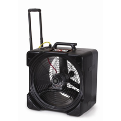 TCN67214 - TornadoPiranha Axial Fan with Handle & Wheels