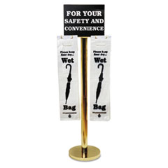 TCO57029 - Tatco Brass Wet Umbrella Bag Stand