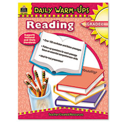TCR3487 - Teacher Created Resources Daily Warm-Ups: Reading