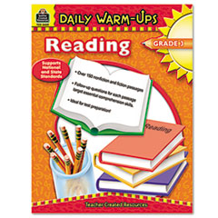 TCR3489 - Teacher Created Resources Daily Warm-Ups: Reading