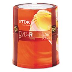 TDK48520 - TDK DVD-R Recordable Disc