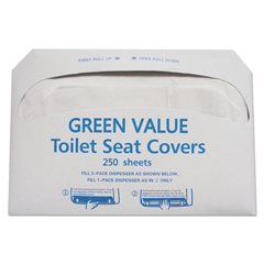 TEHGVTSC5000 - GEN Half-Fold Toilet Seat Covers