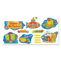 TEP8305 - TREND® Sea Buddies™ Classic Accents®  Bulletin Board Sets