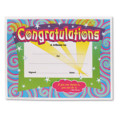 TEPT2954 - TREND® Colorful Classic Certificates