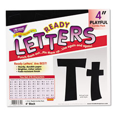 TEPT79741 - TREND® Ready Letters® Playful Combo Set
