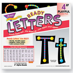 TEPT79755MP - TREND® Ready Letters® Alpha-Beads Letter Combo Pack