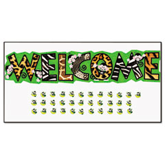 TEPT8219 - TREND® Monkey Mischief™ Welcome Bulletin Board Set