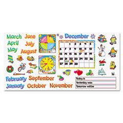 TEPT8302 - TREND® Monthly Calendar (with Cling) Bulletin Board Set
