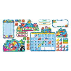 TEPT8306 - TREND® Sea Buddies™ Calendar Bulletin Board Set