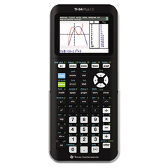 TEX84PLCETBL - Texas Instruments TI-84Plus C Silver Edition Programmable Color Graphing Calculator