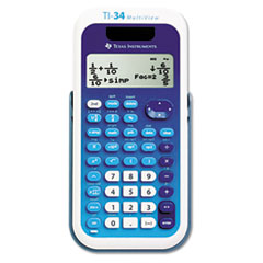 TEXTI34MULTIV - Texas Instruments TI-34 MultiView™ Calculator