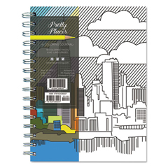 TFB10PPCJ - Perfect Places Coloring Journal