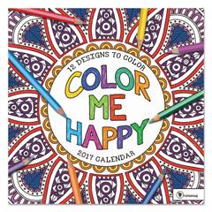 TFB171018 - Color Me Happy Wall Calendar