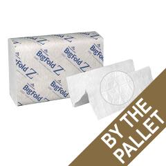 GPC20887PL - BigFold Z® 1-Ply Z-Fold Hand Towels - One Pallet of 30 Cartons