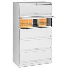 TNNFS351LLGY - Tennsco Fixed Shelf Lateral File