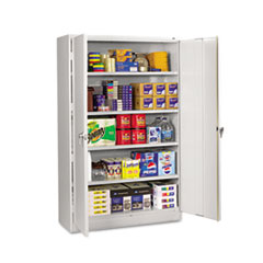 TNNJ1878SULGY - Tennsco Assembled Jumbo Steel Storage Cabinet