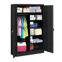 TNNJ2478SUCBK - Tennsco Assembled Jumbo Combination Storage Cabinet