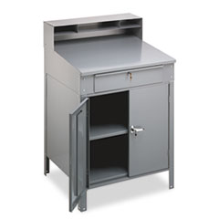 TNNSR58MG - Tennsco Steel Cabinet Shop Desk