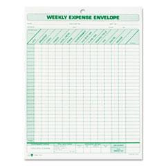 TOP1242 - TOPS® Weekly Expense Envelope