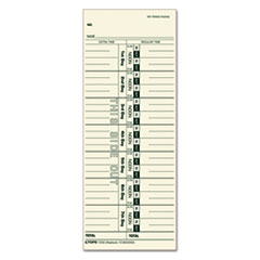 TOP1256 - TOPS® Acroprint, Cincinnati, Lathem, Simplex, Stromberg Time Card
