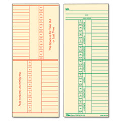 TOP1260 - TOPS® Time Card for Cincinnati