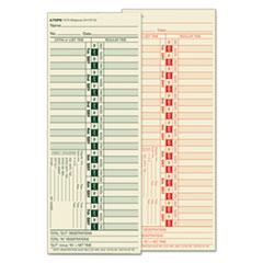 TOP1275 - TOPS® Time Clock Cards