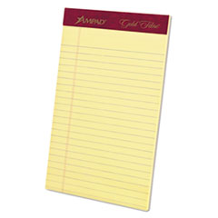 TOP20004 - Ampad® Gold Fibre® 16-lb. Watermarked Writing Pads