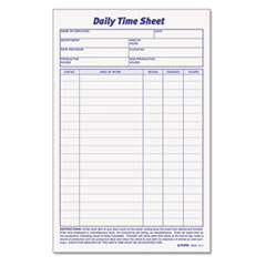 TOP30041 - TOPS® Daily Time and Job Sheets