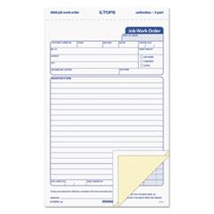 TOP3868 - TOPS® Job Work Order, Snap-Off® Triplicate Form