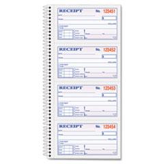 TOP4161 - TOPS® Money/Rent Receipt Spiral Book