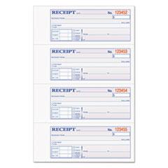 TOP46808 - TOPS® Money/Rent Receipt Books