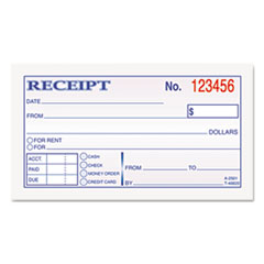 TOP46820 - TOPS® Money and Rent Receipt Books