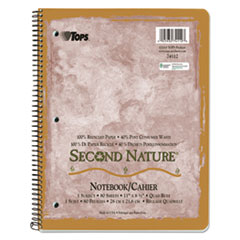 TOP74112 - TOPS® Second Nature® Single Subject Wirebound Notebooks