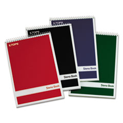 TOP80221 - TOPS® Steno Book with Assorted Colored Cover