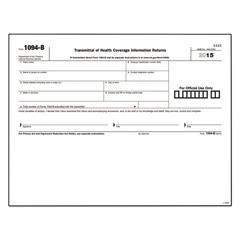 TOPL1094B - TOPS™ 1094-B Transmittal for 1095-B Laser Form
